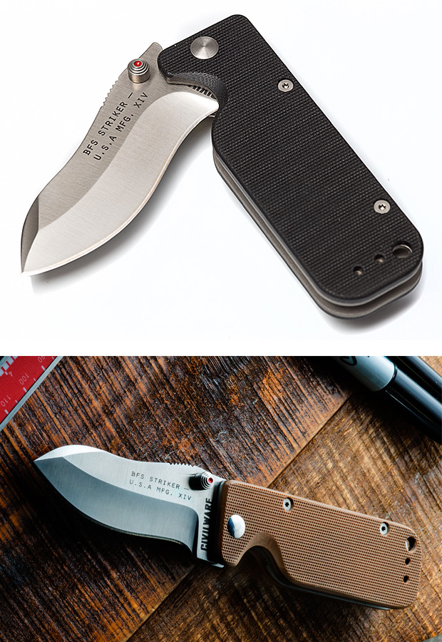 Civilware Striker Folding Knife at werd.com