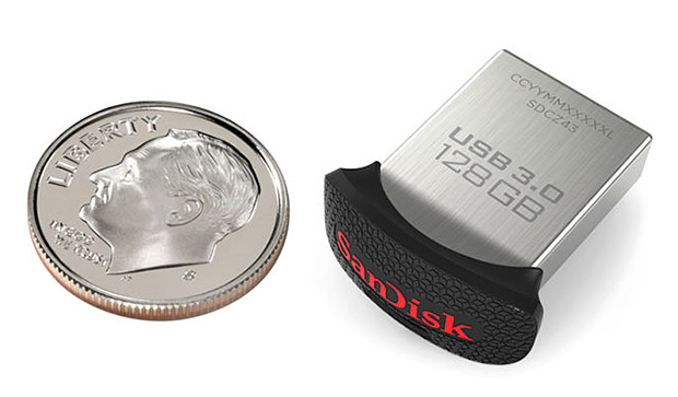 SanDisk Ultra Fit USB 3.0 128GB at werd.com