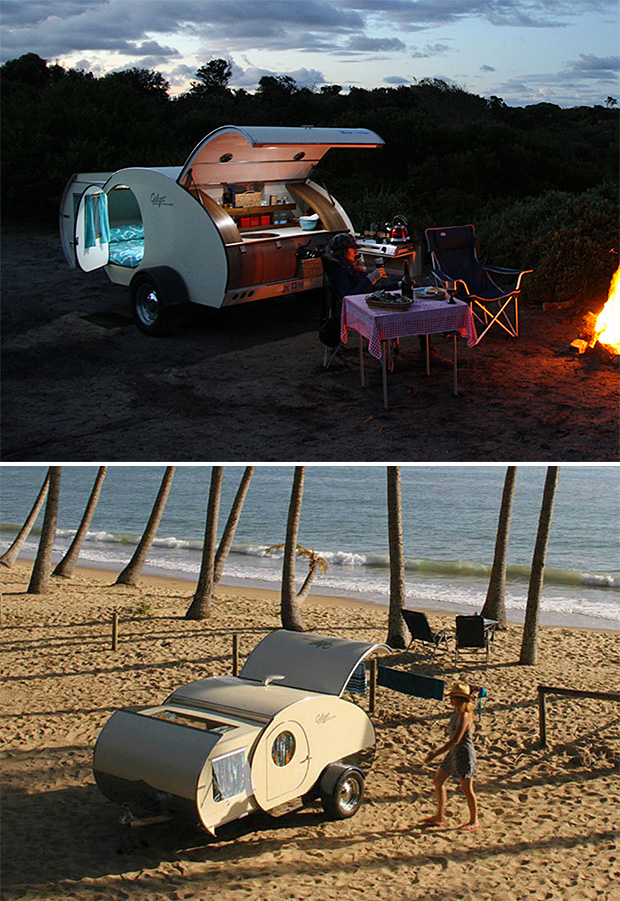 Gidget Teardrop Camper at werd.com