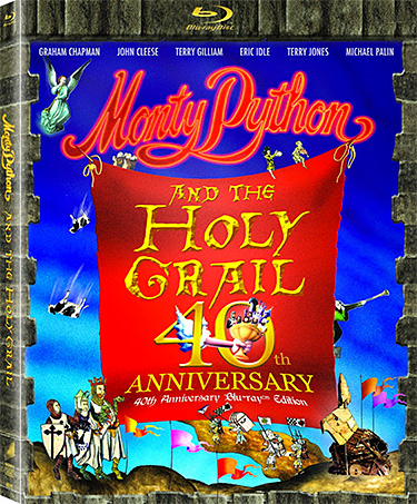 Monty Python and the Holy Grail 40th Anniversary Edition Blu-ray at werd.com