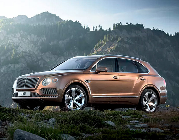 Bentley Bentayga at werd.com