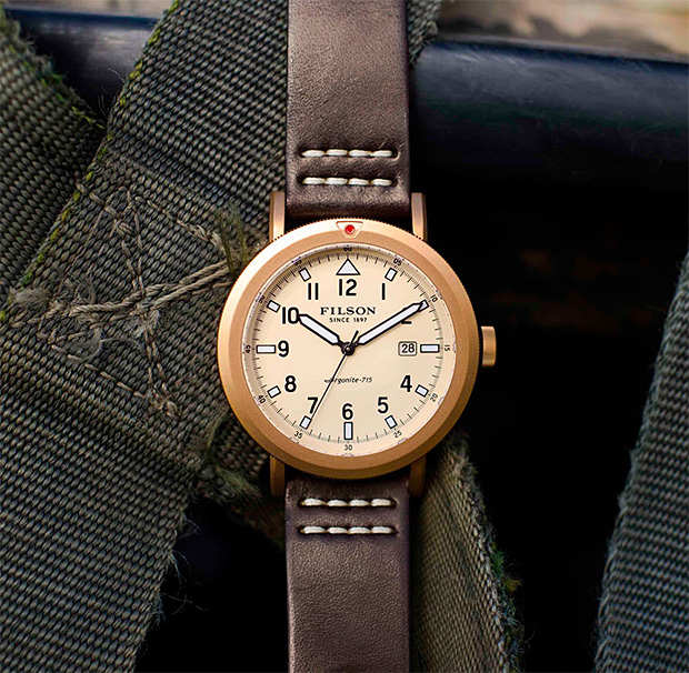 Filson Scout Watch Collection at werd.com