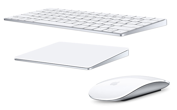 Apple's New Magic Keyboard, Mouse, and Force Touch Trackpad at werd.com