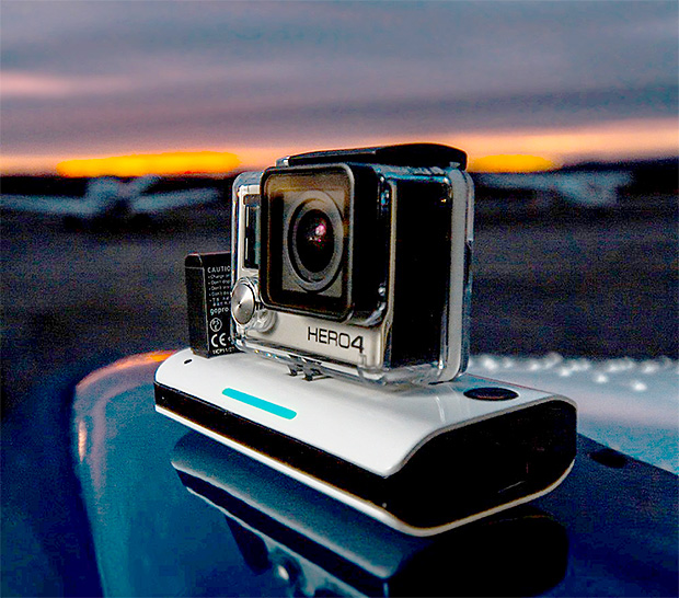 Mota Wireless GoPro Charger at werd.com