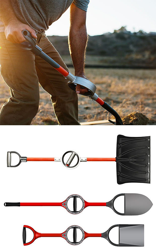 Bosse Ergonomic Shovel at werd.com