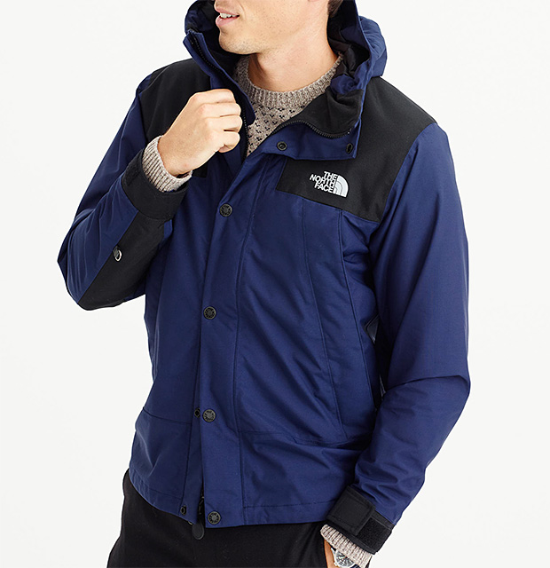 The North Face x J.Crew 1985 Mountain Jacket at werd.com