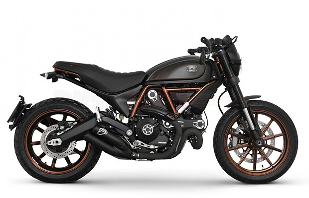 Ducati Scrambler Italia Independent at werd.com