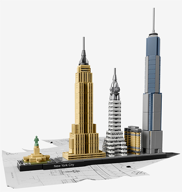 Lego Architecture Skyline Collection at werd.com