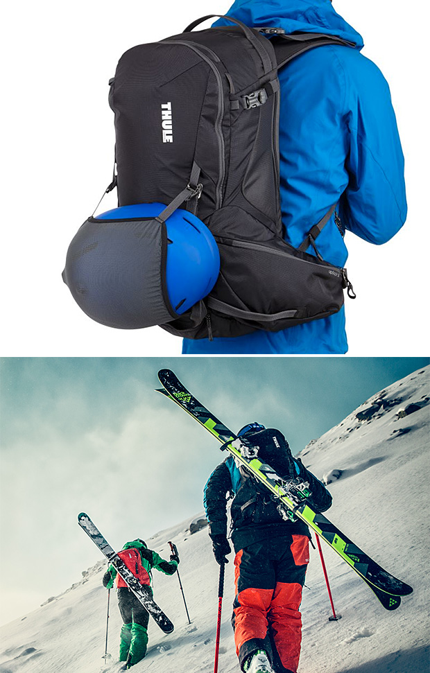 Thule Upslope Backcountry Ski and Snowboard Packs at werd.com