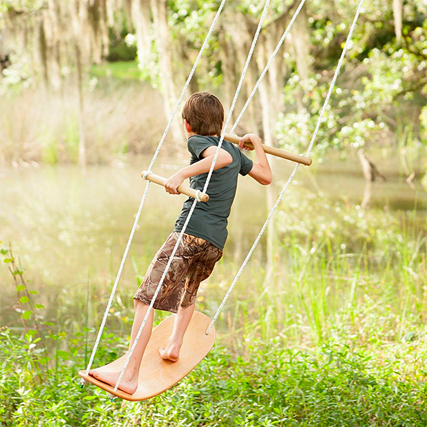 The Swurfer Swing at werd.com