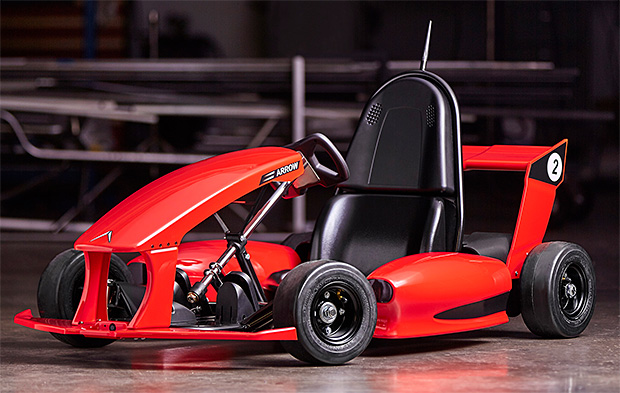 Arrow Smart Electric Go-Kart at werd.com