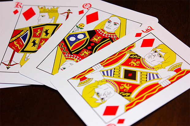 Game of Thrones Playing Cards at werd.com