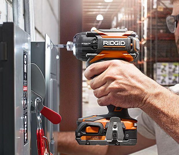 Ridgid Stealth Force Impact Driver at werd.com