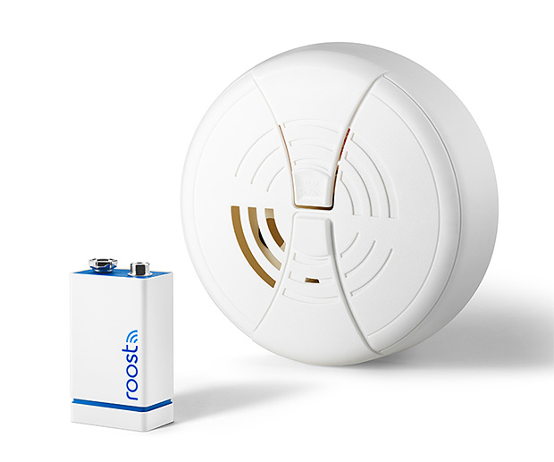 Roost Smart Battery for Smoke Alarms at werd.com