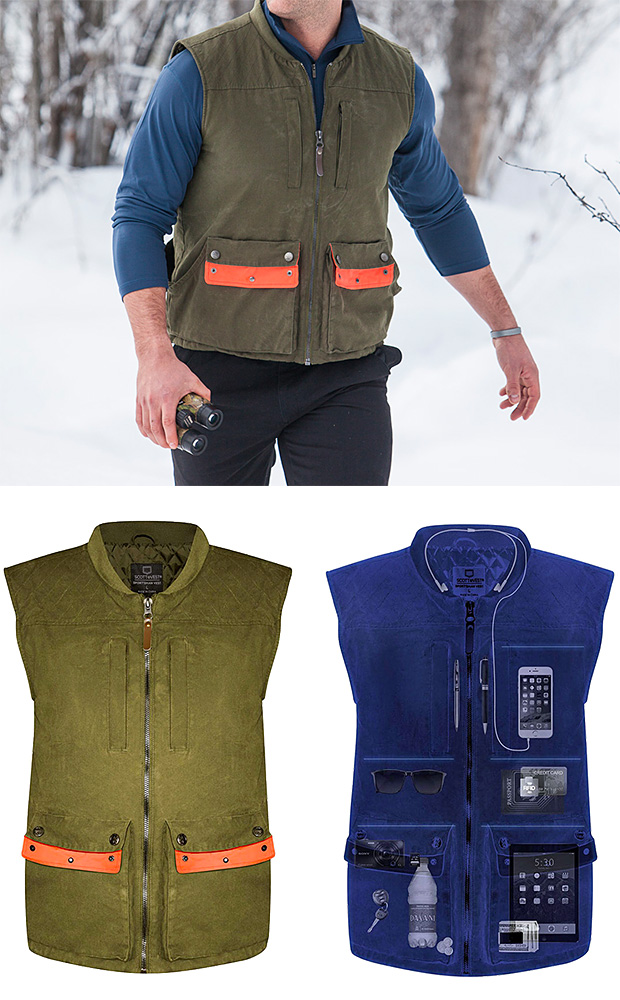 SeV Sportsman Vest at werd.com
