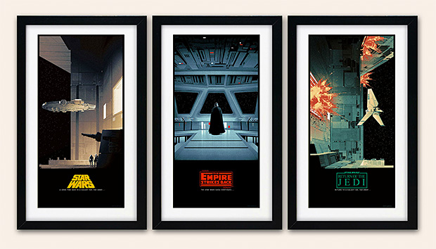 Star Wars Posters by Matt Ferguson at werd.com