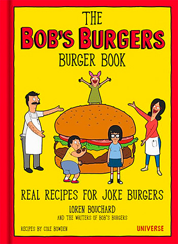 The Bob's Burgers Burger Book at werd.com