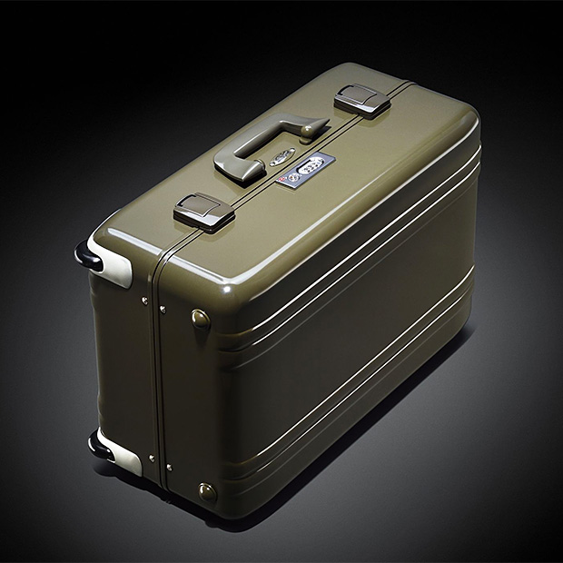 Zero Halliburton Limited-Edition Vintage Suitcase at werd.com