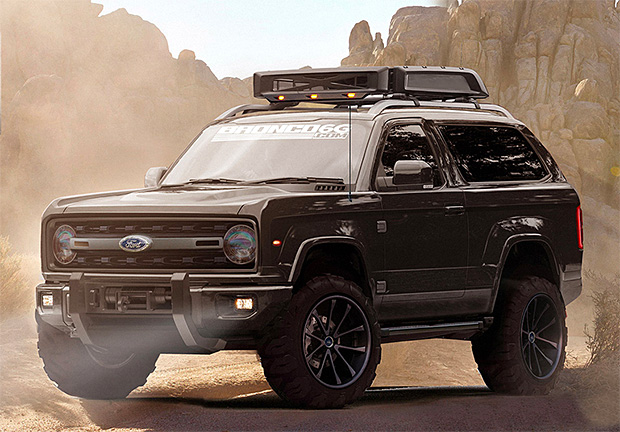 2020 Ford Bronco Concept at werd.com