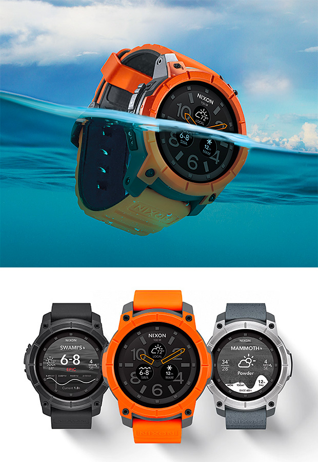 Nixon Mission Smartwatch at werd.com