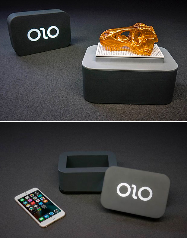 OLO Smartphone 3D Printer at werd.com