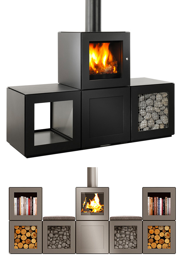 SPEETBOX Wood Stove System by Philippe Starck at werd.com