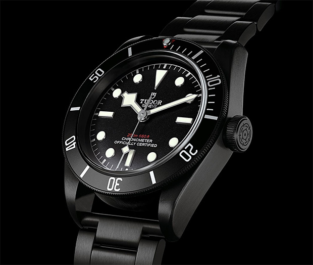 TUDOR Heritage Black Bay Dark at werd.com