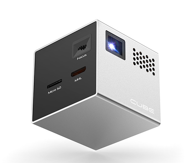 The Cube Projector at werd.com