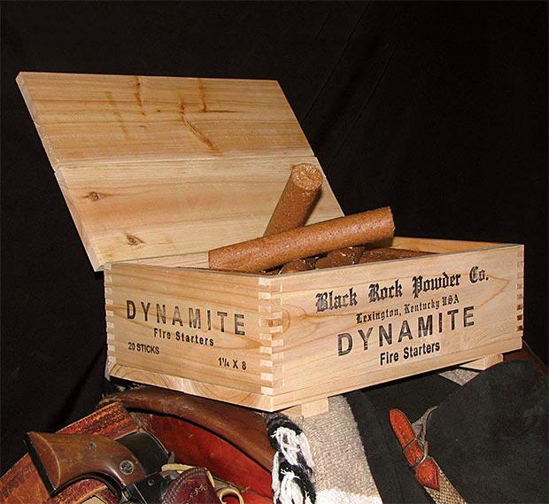Black Rock Powder Company Dynamite Fire Starters at werd.com