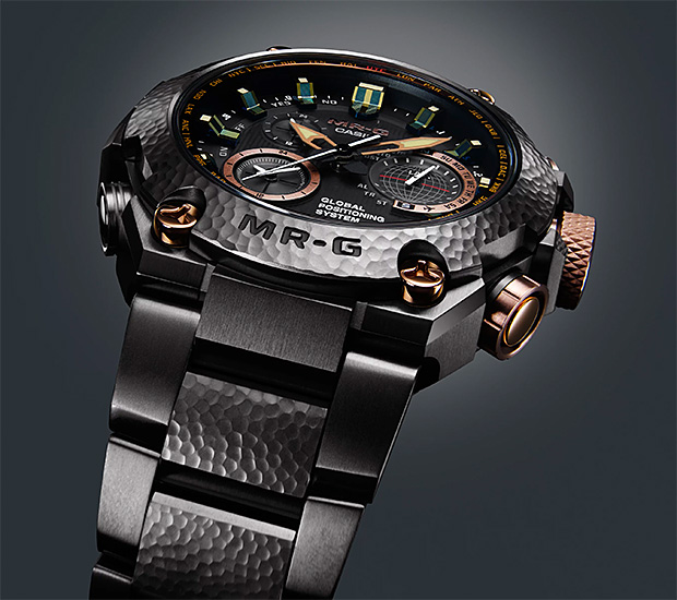 Casio G-Shock MR-G Hammer Tone at werd.com