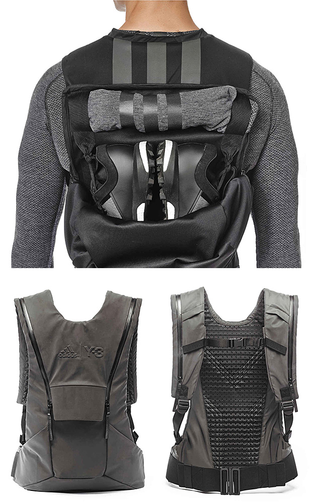 Y-3 Sport Backpack at werd.com