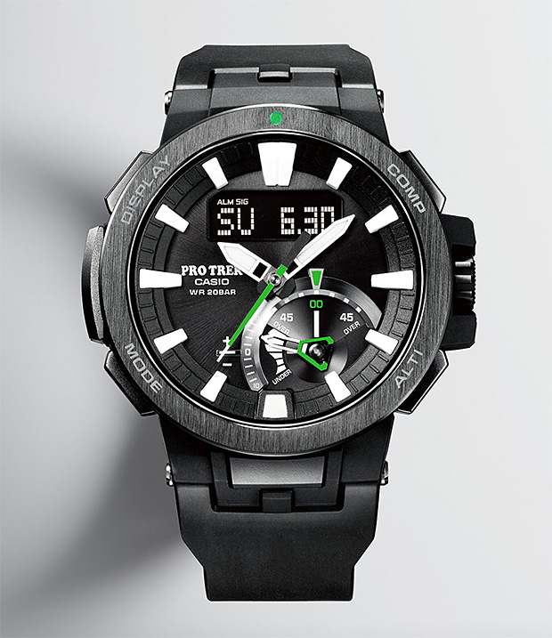 Casio Pro Trek PRW-7000 at werd.com