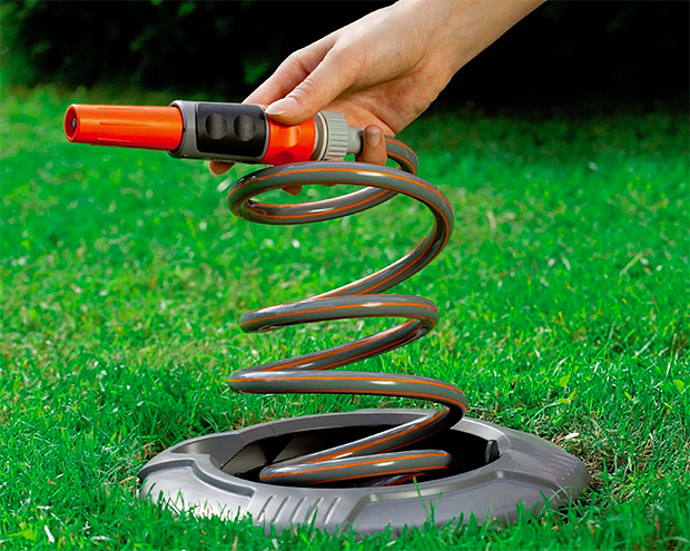 Gardena In Ground Spiral Hose Box Werd Com