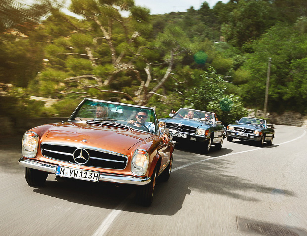 Mercedes-Benz Classic Car Travel at werd.com
