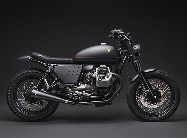 Venier Customs Moto Guzzi V7 at werd.com