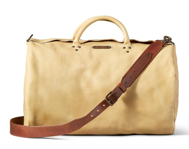 Wild Bill Leather Duffle Bag at werd.com