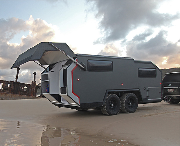 Bruder Expedition EXP-6 Trailer at werd.com