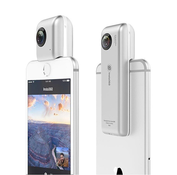 Insta360 Nano Dual Lens Camera for iPhone at werd.com