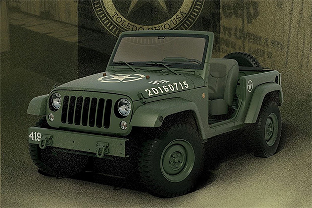 Jeep 75th Salute at werd.com