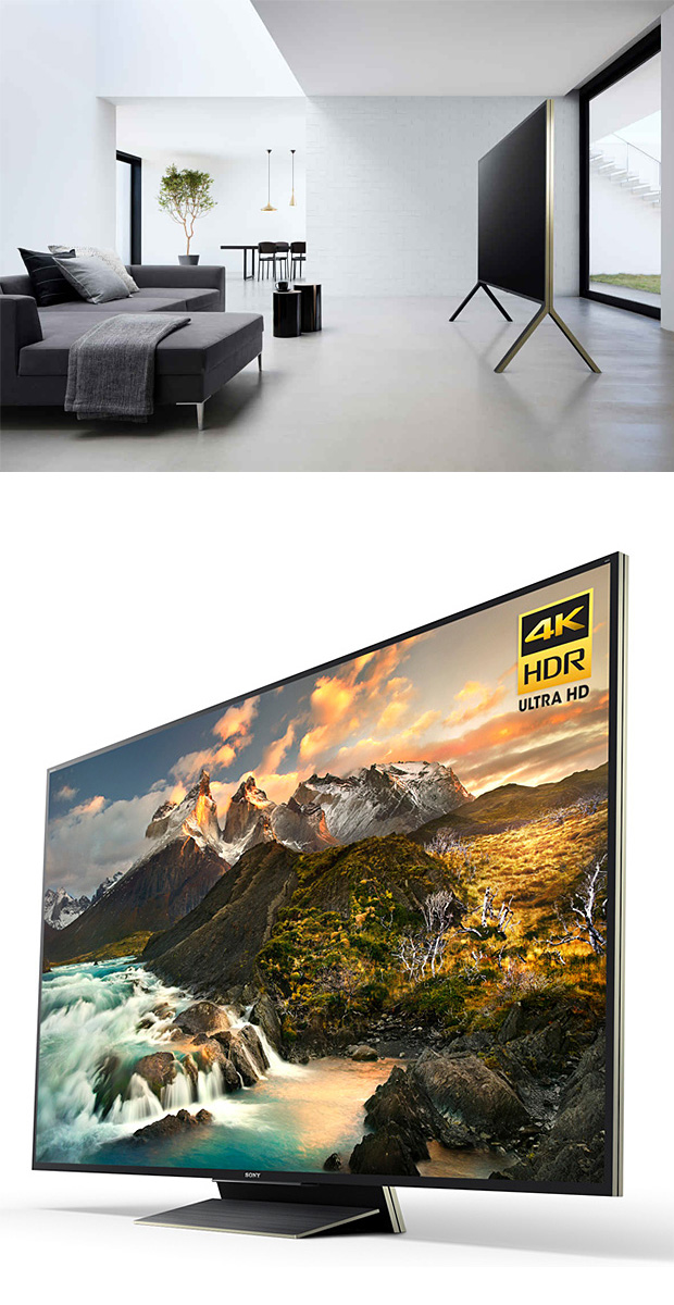 Sony Z Series 4K HDR Ultra HD TVs at werd.com