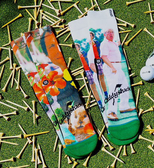 Stance Caddyshack Socks at werd.com