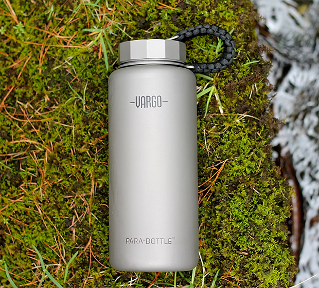 Vargo Titanium Para-Bottle at werd.com