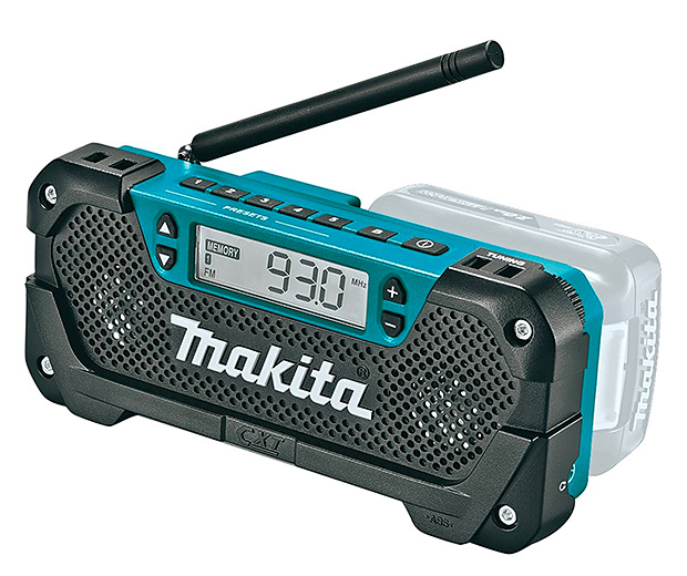 Makita RM02 Cordless Job Site Radio at werd.com