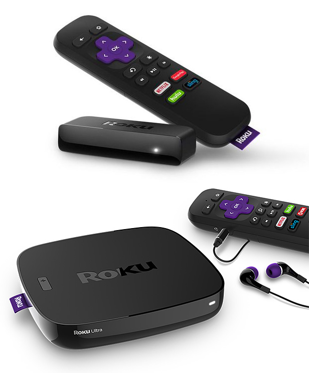 New Roku Streaming Players at werd.com