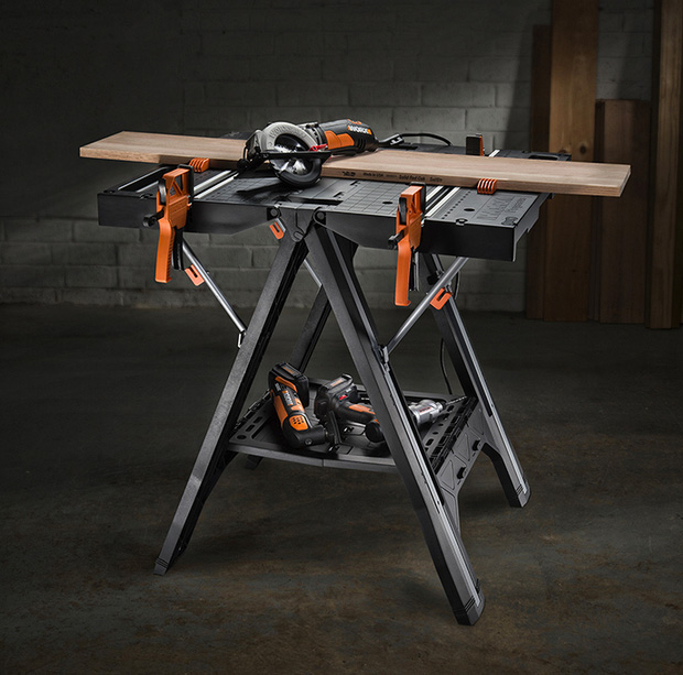 WORX Pegasus Folding Work Table at werd.com