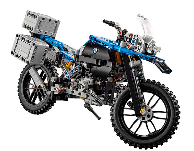 The BMW R 1200 GS Adventure LEGO Set at werd.com
