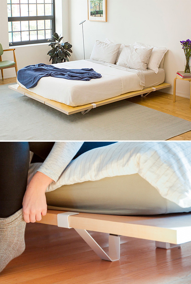 The Floyd Platform Bed at werd.com
