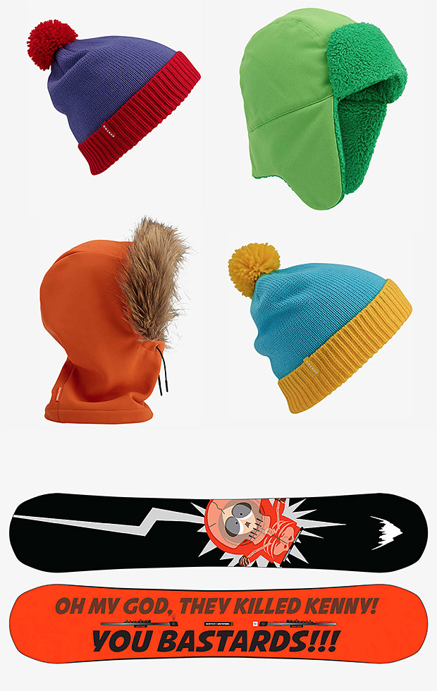 Burton x South Park Collection at werd.com