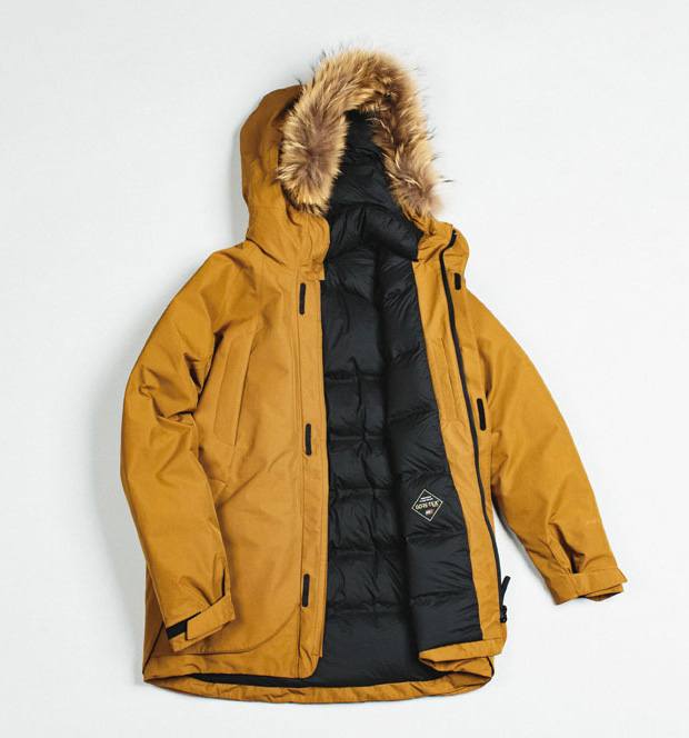 Goldwin Sports Outerwear at werd.com