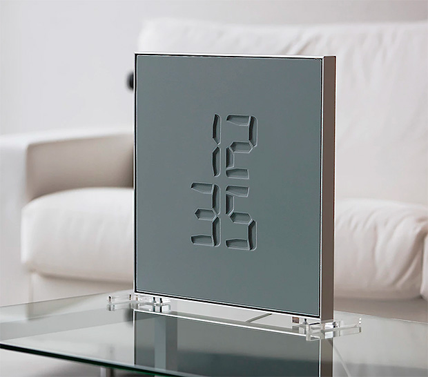 Etch Clock at werd.com